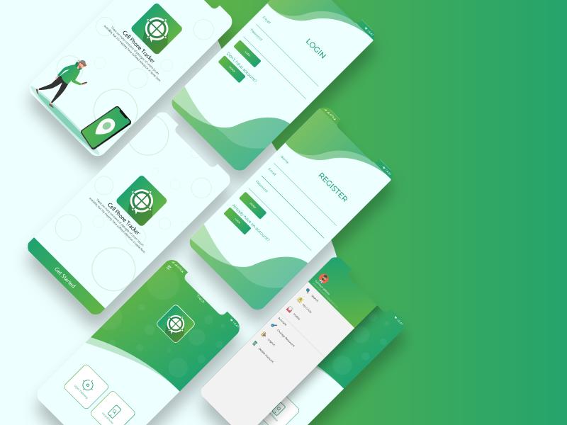 app UI/UX design for android app animation clean typography website branding mobile ui desing application uxdesign ux ui-ux design illustrator vector app ui illustration interface design