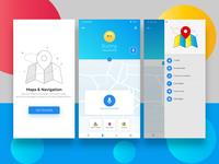 App UI UX design concept
