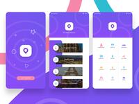 App ui ux concept design