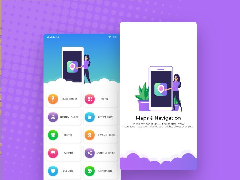 App UI UX design by Taimoor Abbasi on Dribbble