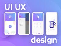 New App UI UX design