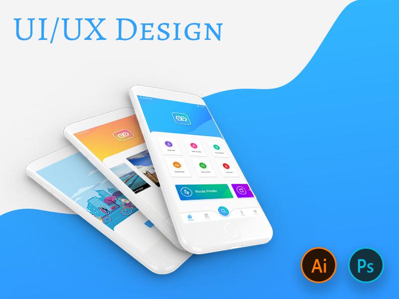 Maps & Navigation App Design gradients colors inspirations grahics uiux design uplabs dribbble gps maps navigation app