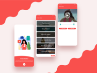 Video Editor App UI/UX Design