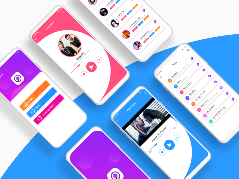 Music Player App UI/UX Design by Taimoor Abbasi on Dribbble