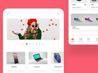 Ecommerce App UI/UX Design