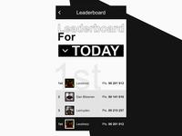 Leaderboard / Daily UI 019