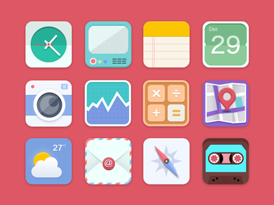 Flat - icon