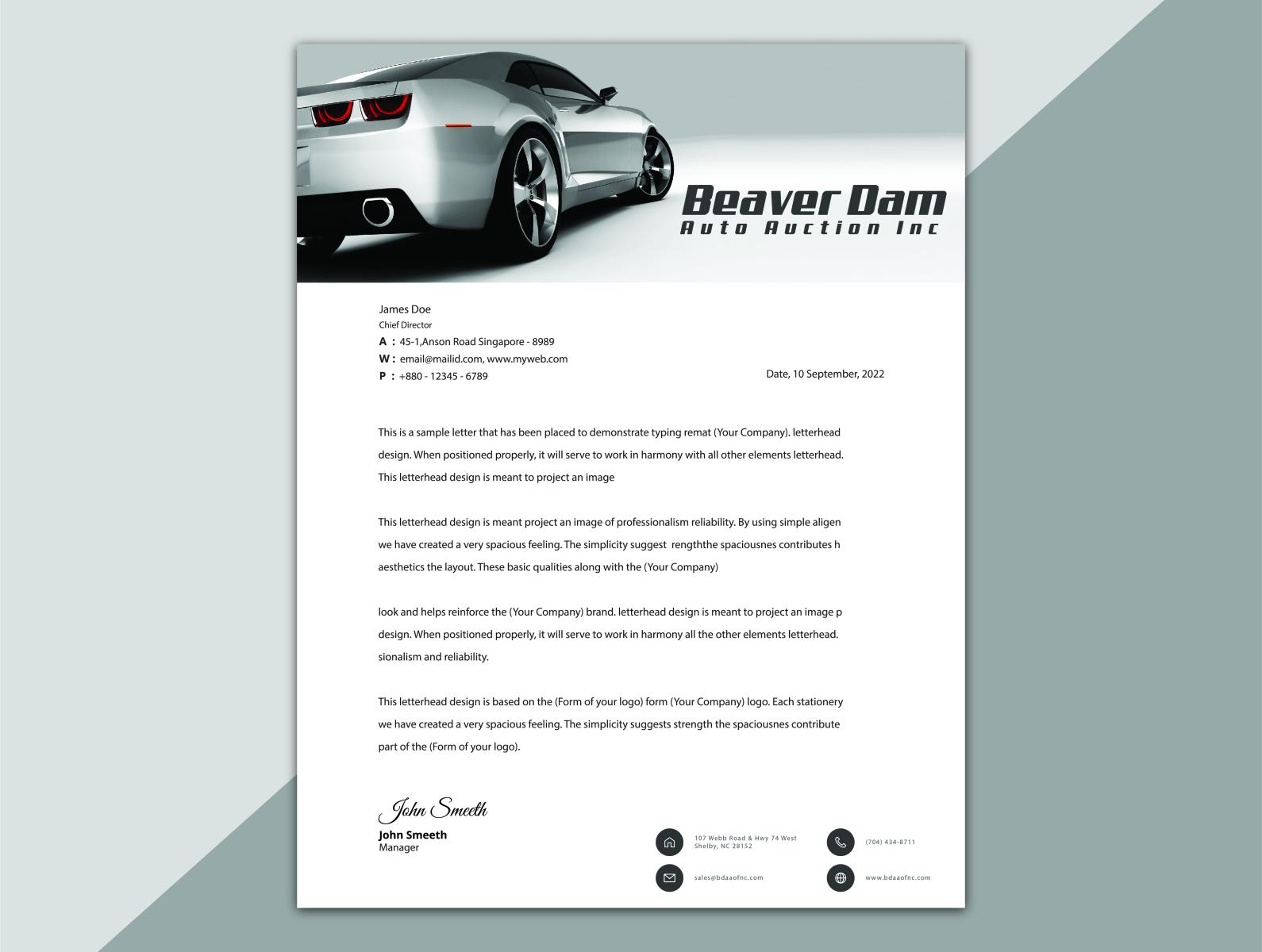 Letterhead Design By Mostafijur Rahman On Dribbble,Fashion Designer Business Card Ideas
