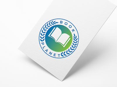 Bookplanet logo design