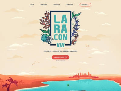 Laracon animation laravel vector uxui design illustration ux ui design