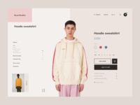 Acne Studios • E-shop #1
