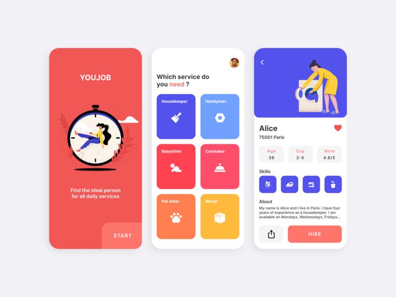 Youjob app