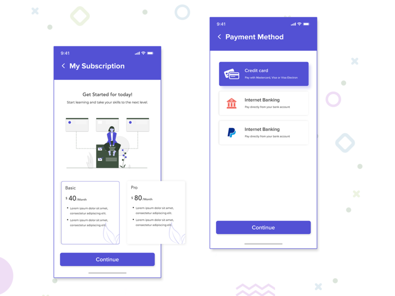 Subscription plan ui cards cards ui business card business my subscription subscriptions banking paypal paytm payment page payment gateway payment method payment my plan plans subscription box subscription dribbble debut design