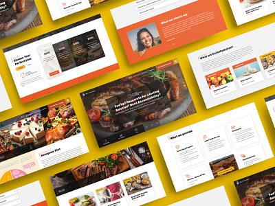 KetoTrainer Website Concepts responsive design australia melbourne freelancer krystlesvetlana colourful wordpress web design