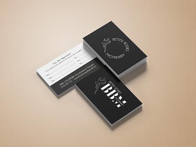Better Bodies Myotherapy melbourne australia freelancer krystlesvetlana typogaphy logodesign