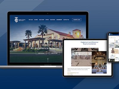 Web Design for Yarra Yarra Golf Club freelancer melbourne krystlesvetlana responsive design history timeline design golf club web design