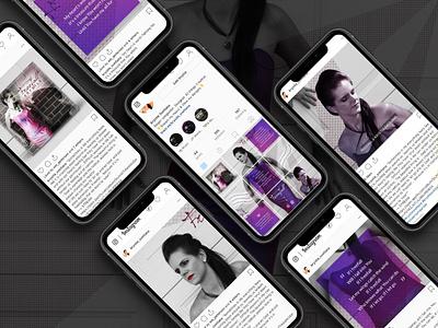 Freefall Instagram Designs instagram feed australia melbourne freelancer music design marketing instagram digital art krystlesvetlana