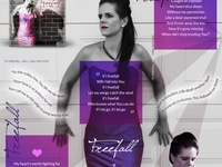 Freefall Instagram Design