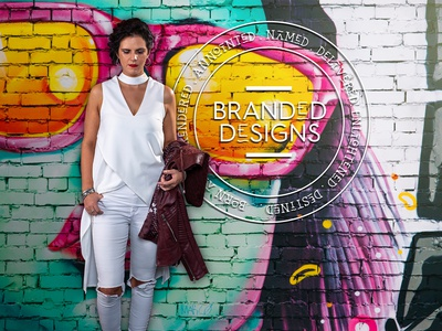 BRANDED Designs Banner Art freelancer krystlesvetlana photoshop digital art branding  design