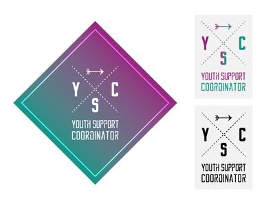 Youth Support Co-Ordinator Logo freelancer krystlesvetlana illustrator logo design logo