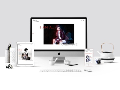 Re-vamp of my personal website freelancer krystlesvetlana digital design webflow web development web  design