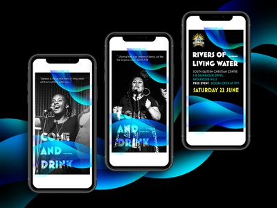 Instagram Story for Urban Praise June Event digitalart instagram stories instagram design