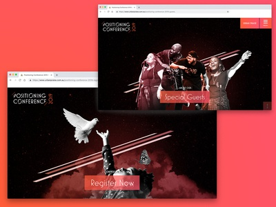 UP Conference Website 2019 Banners colourful freelancer krystlesvetlana webflow webdesign