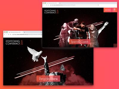 UP Conference Website 2019 Banners colourful freelancer krystlesvetlana webflow webdesign