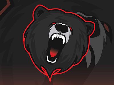 The Grizzly Bear logos logodesign tshirt art vector illustration design esport esportlogo