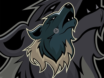 Wild Wolf apparel tshirtdesign tshirt esportlogo esport logo illustrator branding vector illustration design