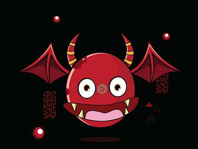 Bat Gosht character design vector tshirt design logo illustrator illustration game esport logo design branding apparel