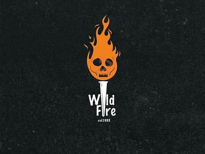 Wild Fire 🔥 vintage fire design t-shirt apparel