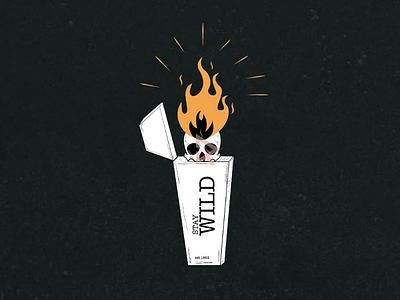 Stay Wild 🔥 apparel design t-shirt