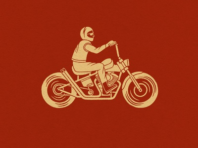 Stay Cruisin' bike illustration vintage illustration illustration digital hand drawn logo vintage logo motorcycle moto logo hand drawn illustration