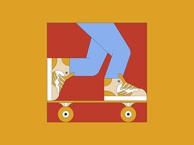 Go Skate! digital illustration illustration digital skateboard graphics vector illustration vectorart graphic design design illustration illustrator skateboarding skateboard