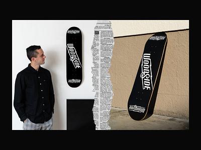 Woodside Skateboard graphicdesign type art typedesign type logo logo design logodesign logotype skateboard logo skateboarding skateboard graphics skateboard typography lettering artist lettering design illustration