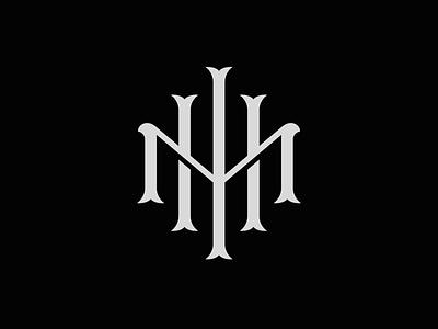 IMH Monogram type logo timeless logo minimal logo identity branding vintage type vintage logo custom type type art typography lettering artist design illustration lettering graphic design logo logodesign monogram logo monogram design monogram