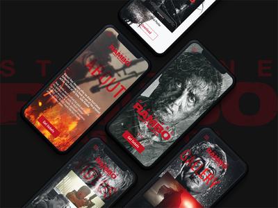 Rambo: Last Blood UI/UX