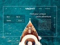 Yacht Webdesign