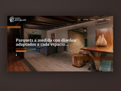 UI for wood crafters in Barcelona web website ux design ui