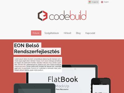 Codebuild's new homepage