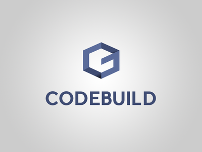 New Codebuild Brand Coming Soon symbol-logo uppercase brand logo