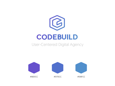 Codebuild brand 2017 branding color digital agency brand logo