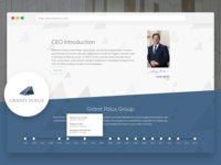 Granit Polus Website Redesign