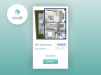 Apartment card