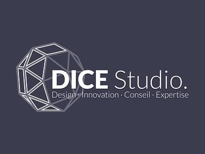 DICE Studio logo (dark) logo