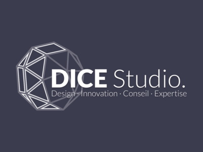 DICE Studio logo (dark) logo