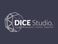 DICE Studio logo (dark)