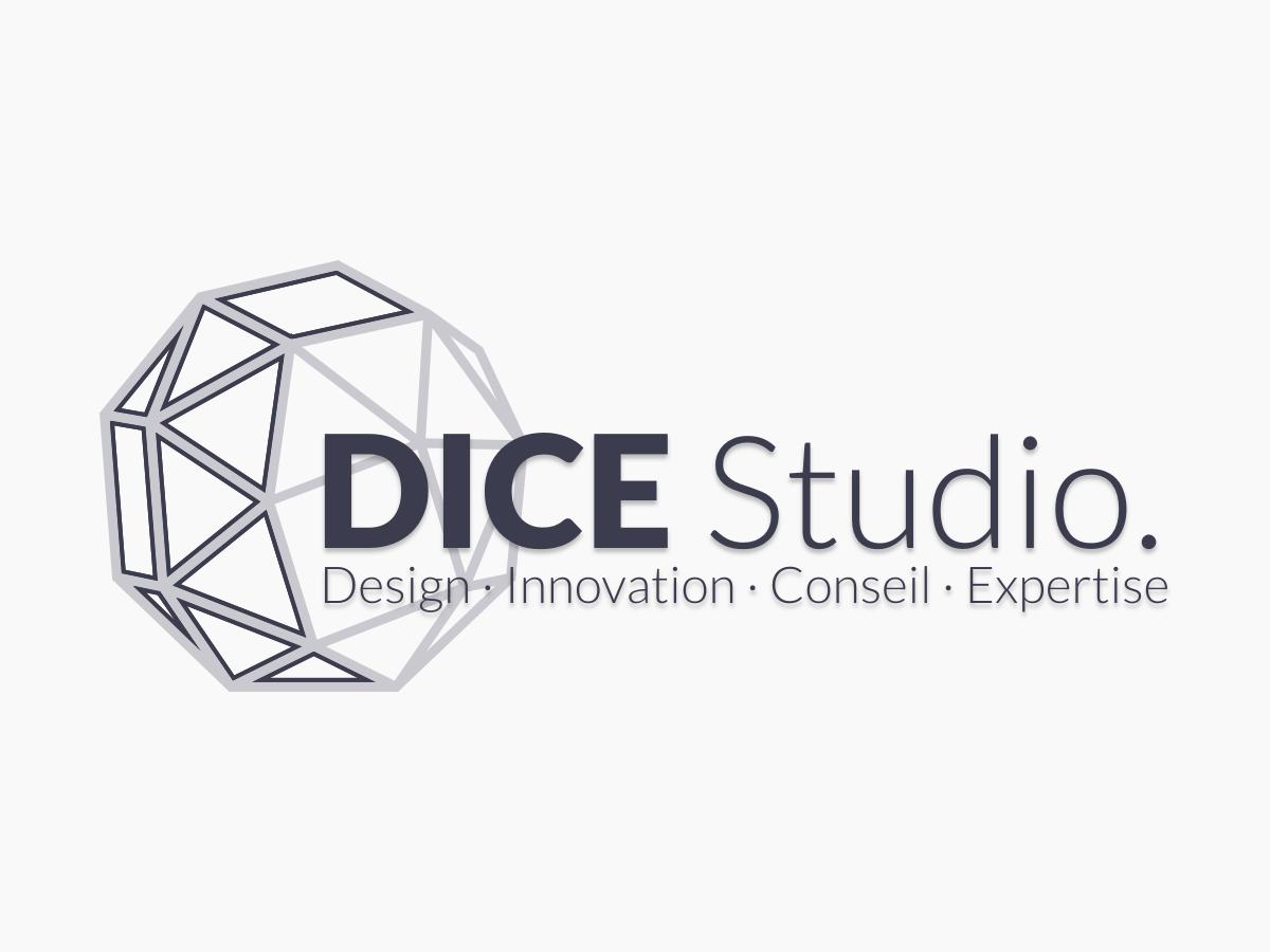 DICE Studio logo (light) logo