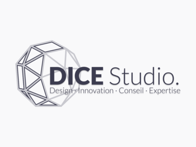 DICE Studio logo (light) logo
